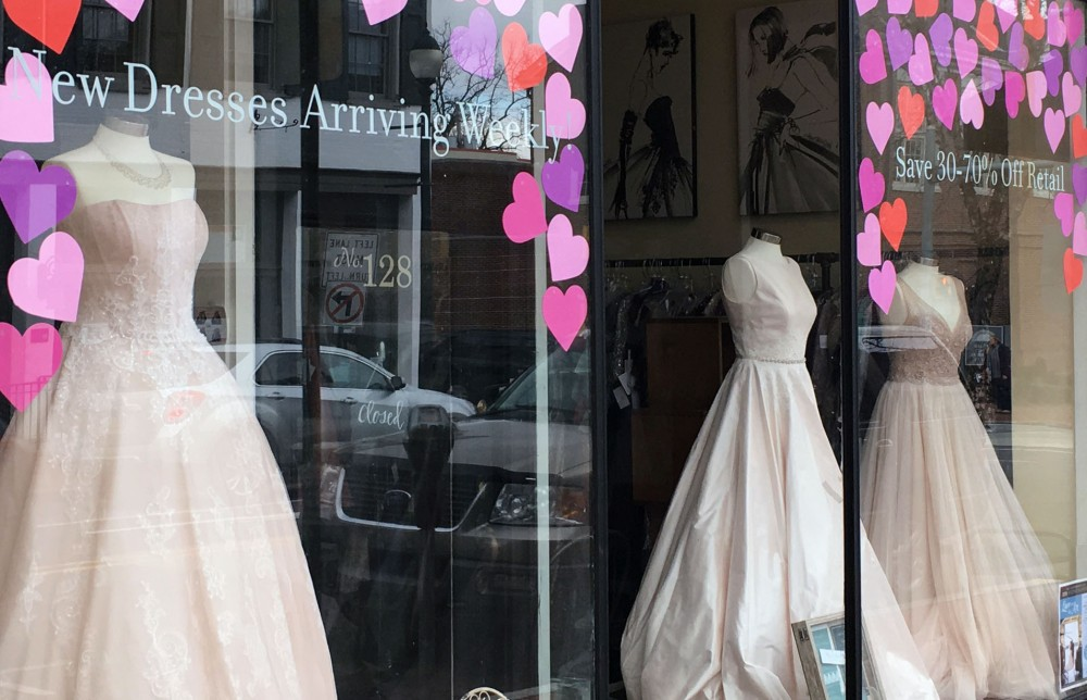 West Chester retailers celebrate Valentine's day in the Borough