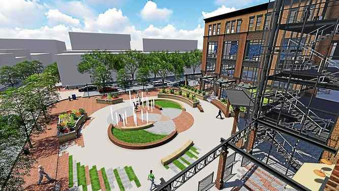 Eli Kahn's Plaza Plan approved as part of an update to the West Chester building code conditional use requirements.