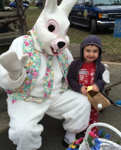 Annual Easter egg hunt at Everhart Park in West Chester