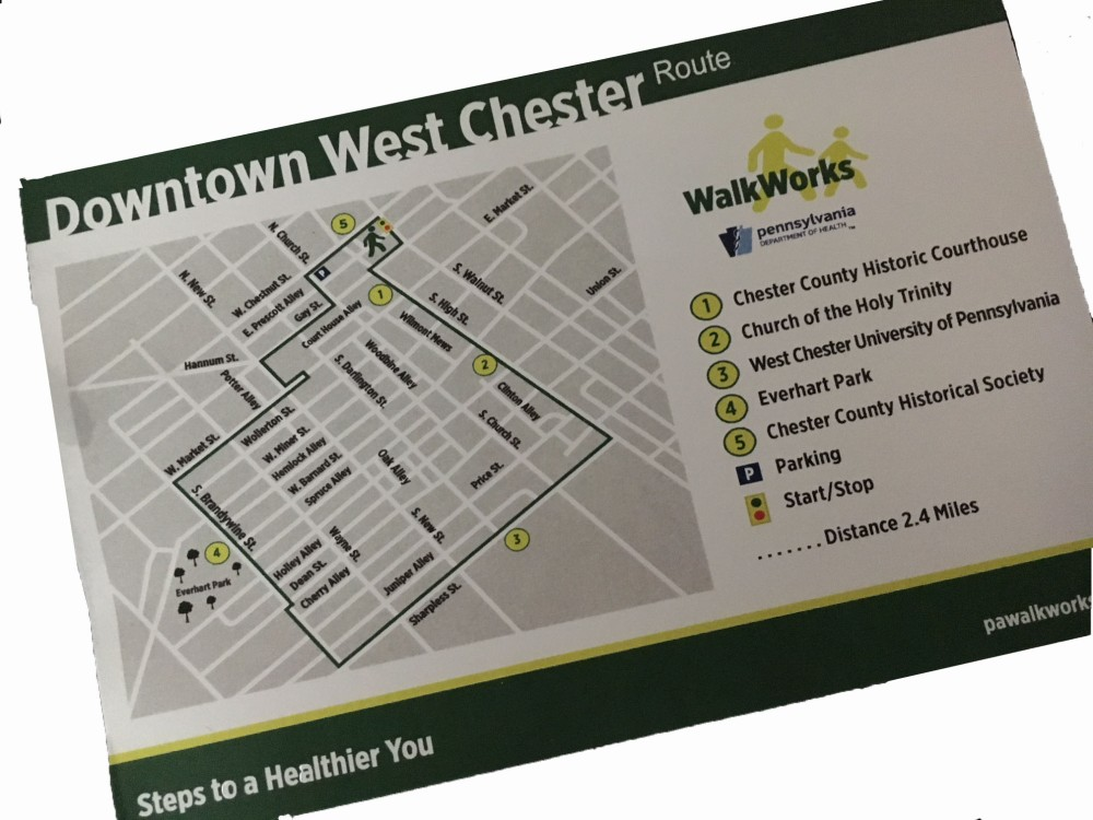 West Chester walking tour featuring sites of local and historical interest