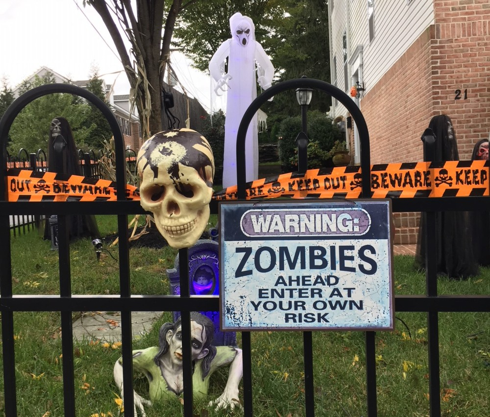 Good decorations are a must when seeking out a quality trick or treating spot