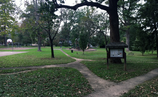 Located just off of Gay St., Marshall Square Park was West Chester's first park.
