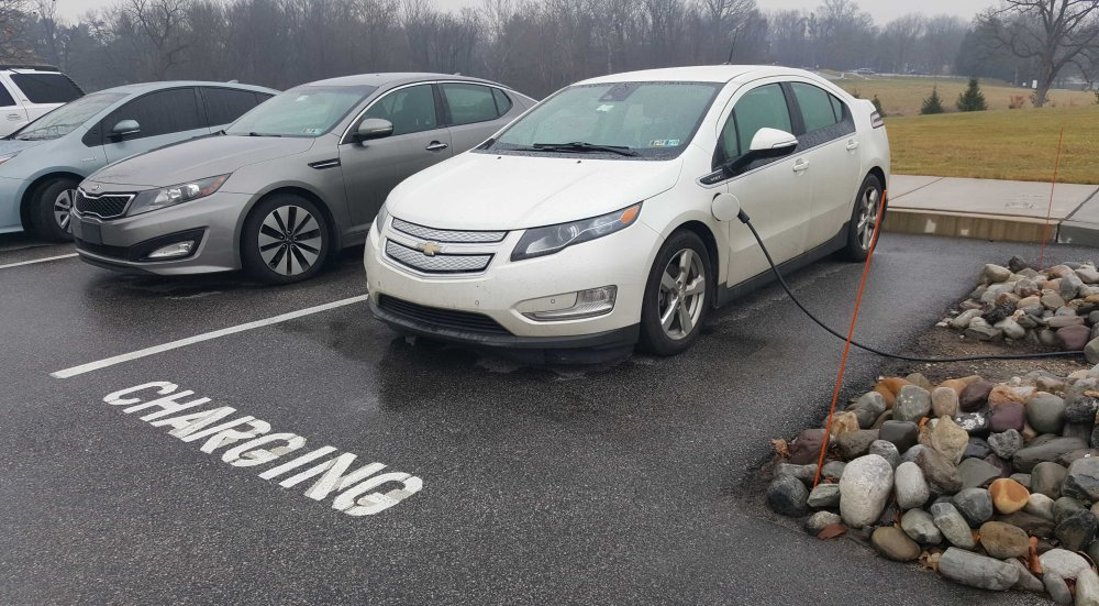 West Chester plugin electric vehicle charging stations
