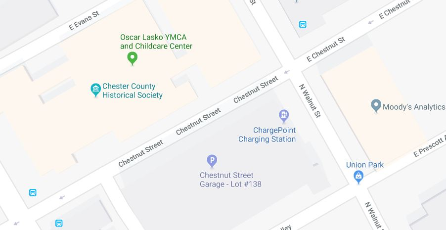google maps include electric charging stations on their maps