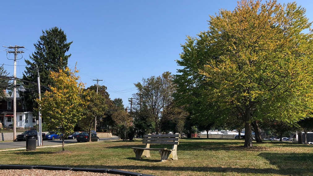 Fugett Park: The Park Behind the Borough Building