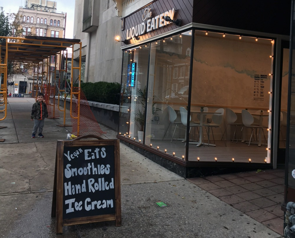 New restaurants, vegan smoothies hand rolled ice cream