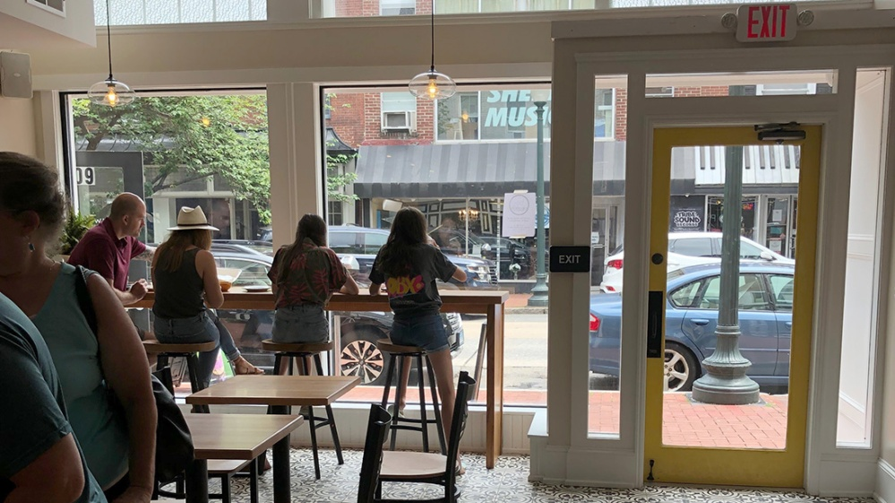 Gryphon coffee on Gay Street west chester pa