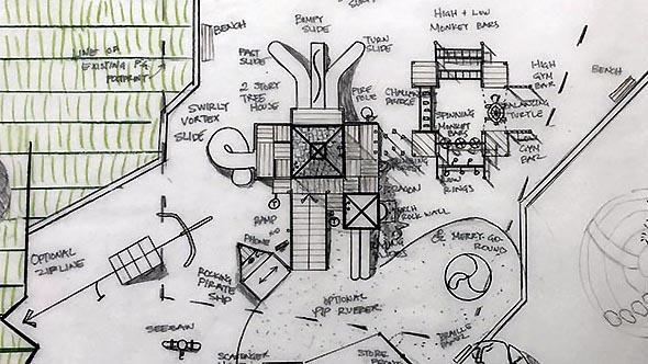 Everhart Park's New PlaygroundRevealed