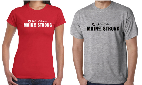 Main Street Strong T-Shirts Now Available