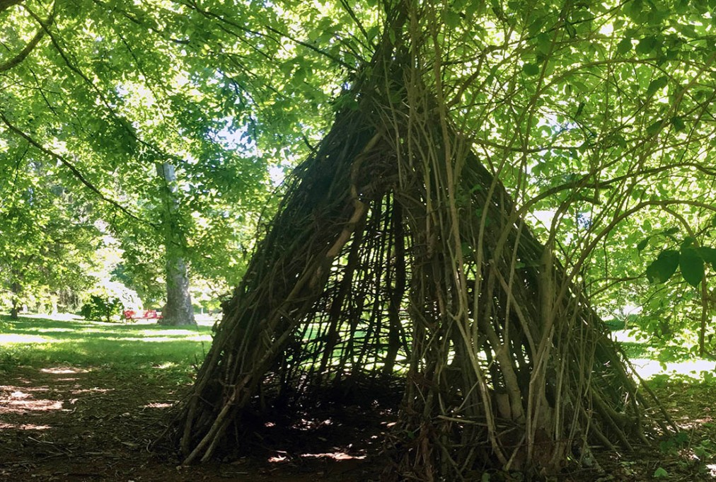 The Story Behind Everhart Park's Hidden Teepee