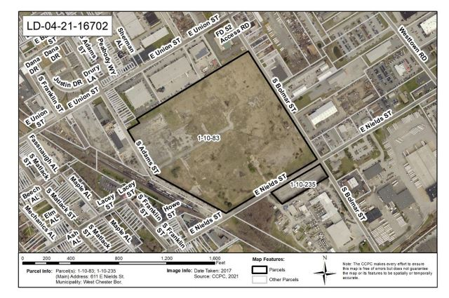 West Chester Brownfield to Go Amazon Blue but – Can They Make itGreen?